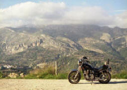 A Winter Ride In Spain