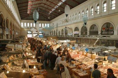 Food Shopping In Athens With 300,000 Of Your Closest Friends