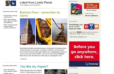 Lonely Planets Now A Blog?