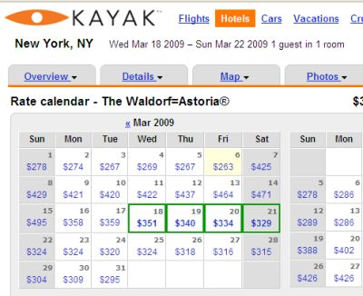 Kayak: The Google Of Travel?