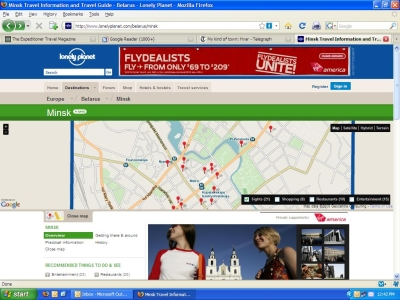 Lonely Planet Adds Guidebook Maps To Their Site