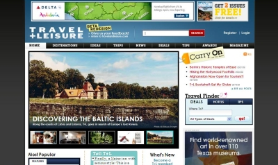 Travel + Leisure Unveils New Site Design