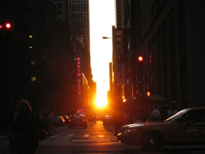 Images Of Manhattanhenge