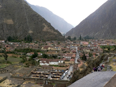 A Funny Thing Happened On The Way To Machu Picchu: Ollantaytambo