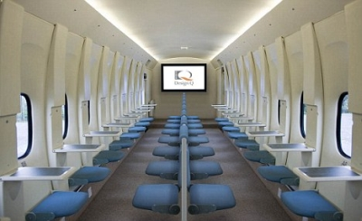 Coming Soon To A Plane Near You: Miliarty Style Seating