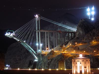 One Of The Worlds Craziest Projects: The Hoover Dam Bypass Bridge. Your Thoughts?