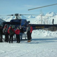 heliskiing