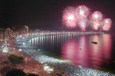 Where Are The Top 5 Biggest New Years Eve Parties Around The World?