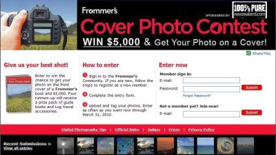 Your Travel Picture On A Frommers Guide