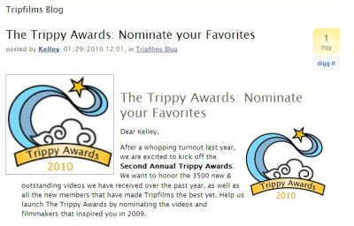 Its Trippy Time! Vote For Your Favorite Travel Videos