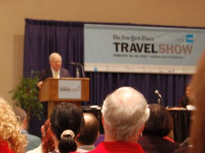 2010 New York Times Travesl Show Blog (Day 2: Special Frommer Watch Edition)