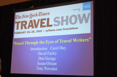 2010 New York Times Travel Show Blog (Day 2 Video    Farley Panel 2: Revenge Of The Travel Writer)