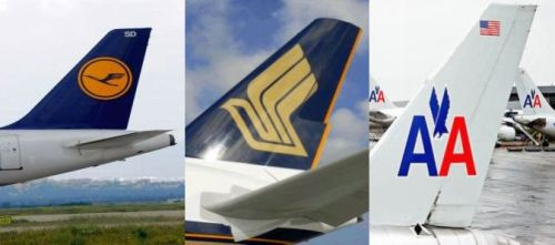 Airline Logos Birds Birds in Airliner's Logos
