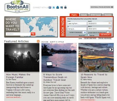 What Do You Think Of The New BootsnAll Design?