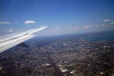 melbournefromplane