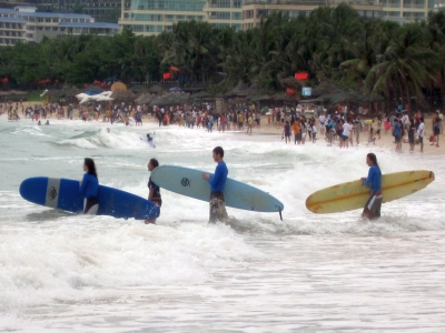 Surfing Paradise . . . In China?