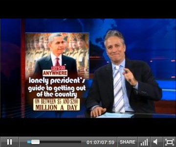 Which Guidebook Does Jon Stewart Use?