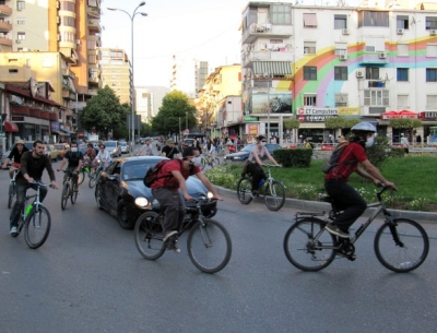 A Bike Community Grows In Albania