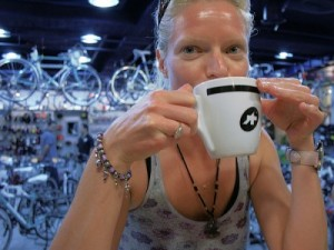 Bike Shop Coffee in Taiwan