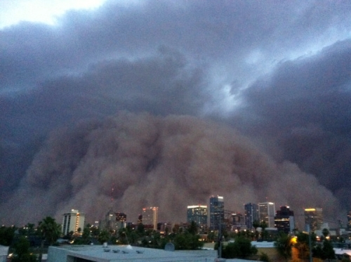 The Most Frightening Image From The Phoenix Sandstorm [Image]