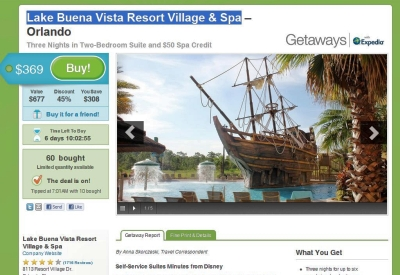 Groupon Getaways Landed Today (Insert Cricket Chirp)