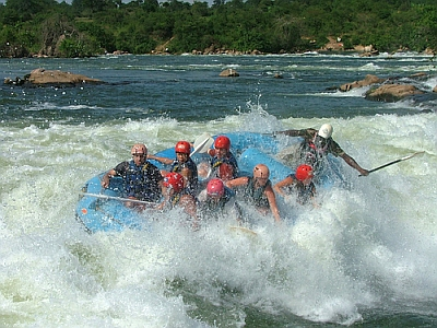 Taking On The Rapids In South Sudan