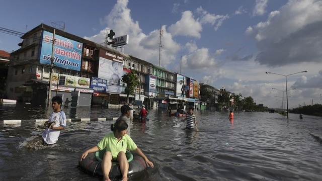Images From The Flooding In Bangkok