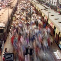 Riding Trains In Mumbai