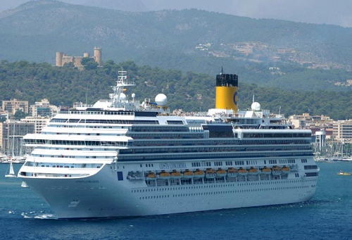 The Costa Concordia Was Actually Bigger Than The Titanic