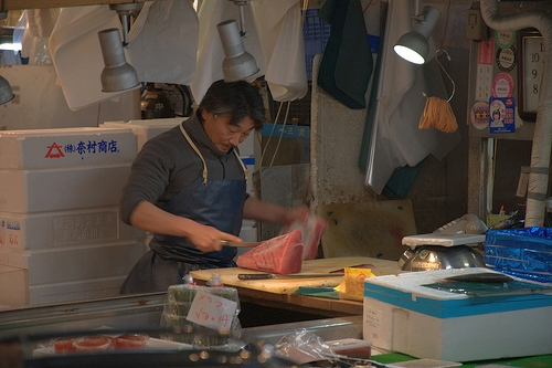 I Wish Annoying Tourists Would Leave The Tsukiji Fish Market Alone