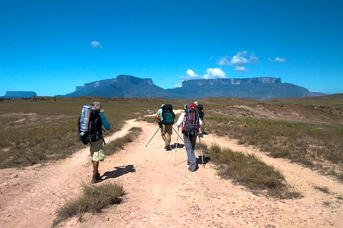 In Search Of The Real Lost World: Scaling Mount Roraima