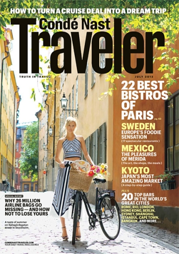 I Wish Condé Nast Traveler Would Stop Putting Supermodels On Their Cover