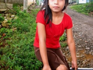 Little girl Guatemala