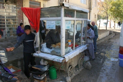 What Street Life Looks Like In Kabul Right Now