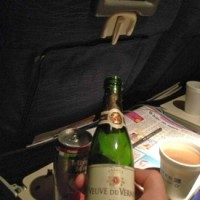 Airplaine Champagne