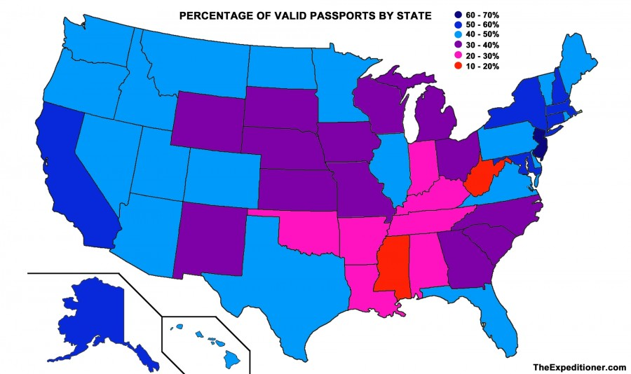 How Many Americans Have A Passport?