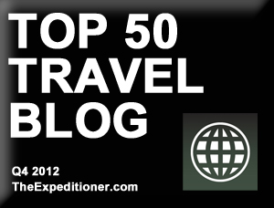 top50travelblogfourthquarter2012 Advertising and Partnerships With Inspiring Travellers