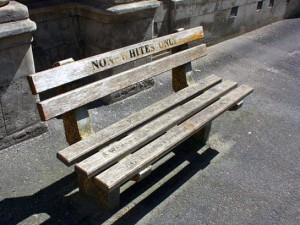 Non-whites_Only_Bench_Outside_High_Court_Civil_Annex_CT