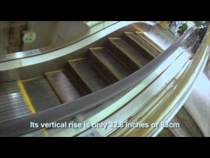 The World's Shortest Escalator Can Be Found Just South Of Tokyo [Travel Video]