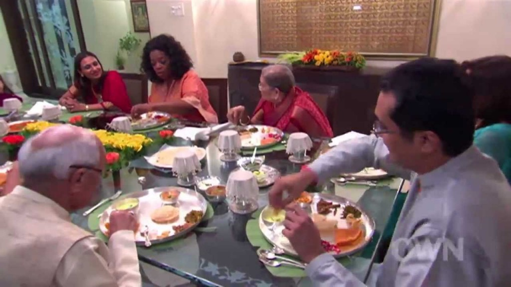 """Oprah: """"I Heard Some Indian People Eat With Their Hands"""""""