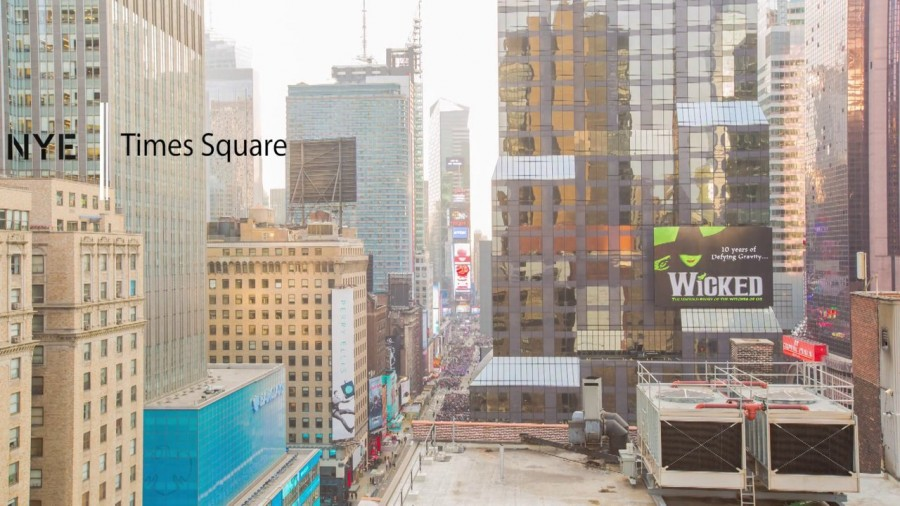 New Year's Eve + Timelapse Video + Times Square=The Best Travel Video Of 2014 So Far