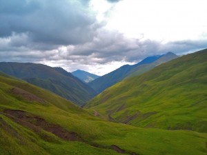 Chechen Border along the Caucasus Mountains3