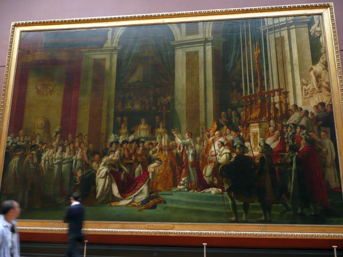 The Curious Case Of The Female Napoleon At The Louvre