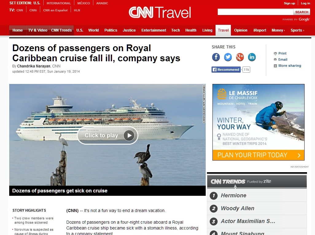 CNN: Americas Trusted Source For News About Bowel Movements On The High Seas