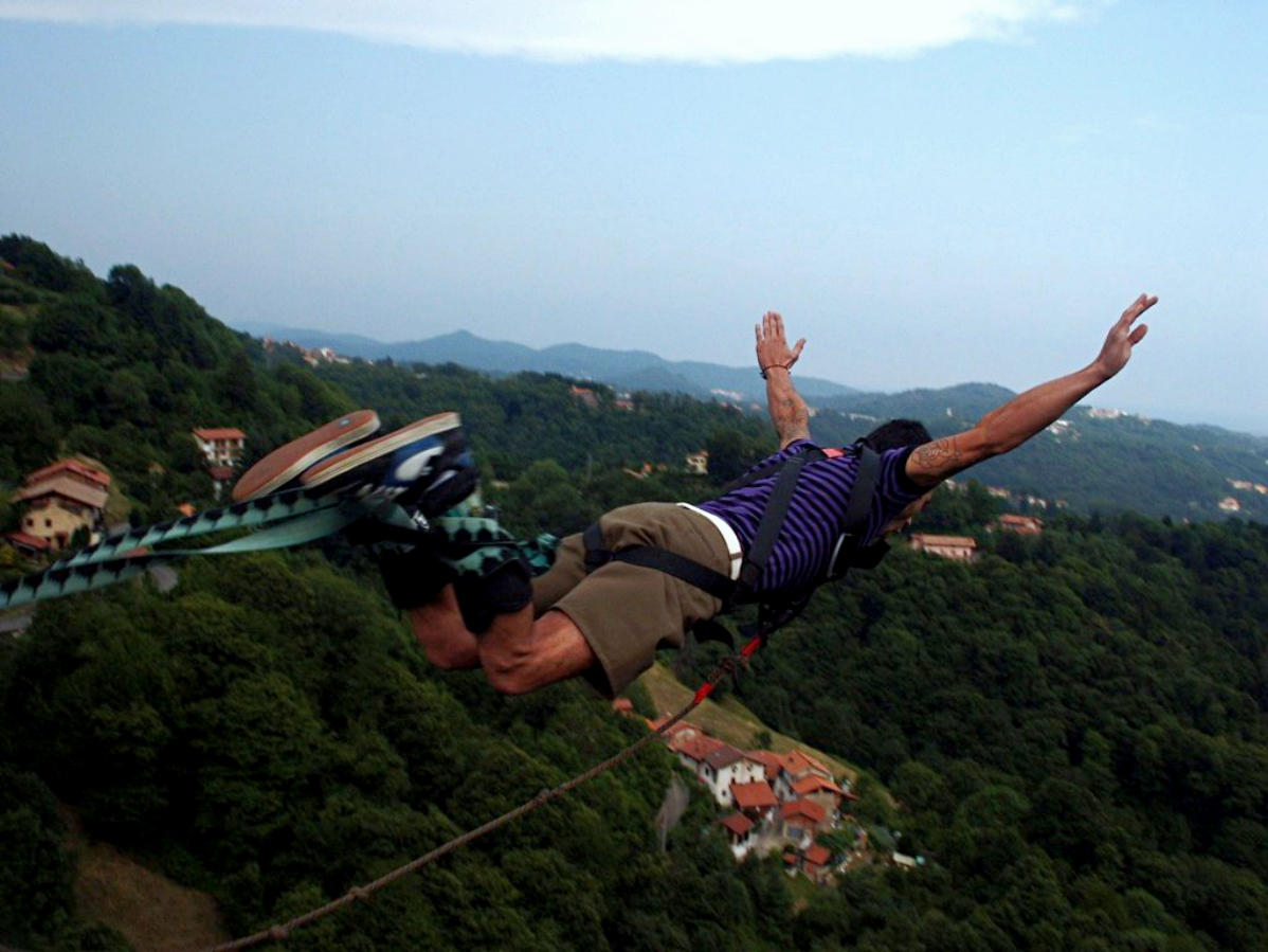 The Dizziness Of Freedom: The Birth And Rise Of Bungee Jumping