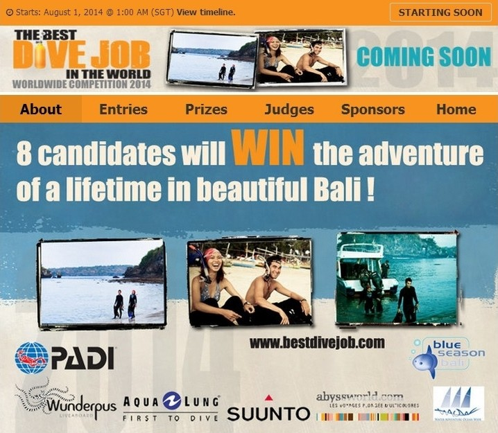 Heres Your Chance To Win The Best Dive Job Ever