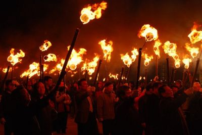 Burning Down The Neighborhood: The Jeju Fire Festival
