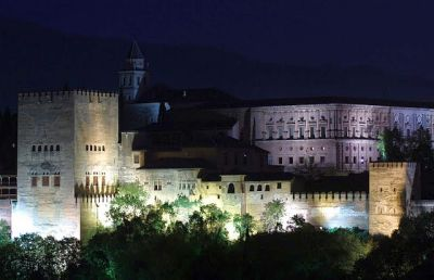 Deep Breath: The Alhambra At Night Is Worth The Hassle