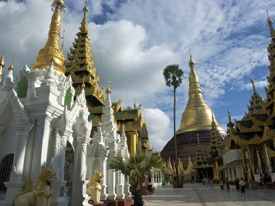 Around Shwedagon Pagoda