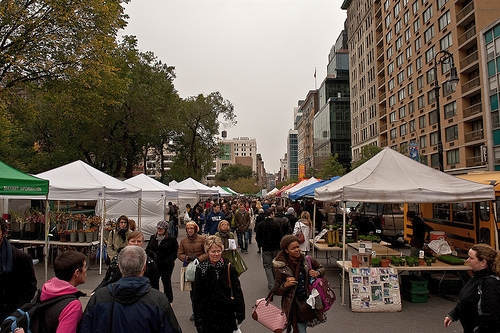 Union Square Greenmarket, New York City